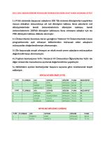 1-) 4 lük sistemde başvuran adayların 100 `lük sisteme dönüşümleri