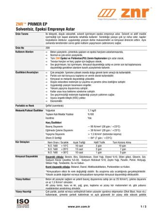 209- ZNR Primer EP-D