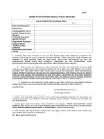Beyanname Düzeltme İşlemi - Ankara Gümrük Müşavirleri Derneği
