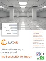 LUXAR SN Serisi LED T5 Tüpler