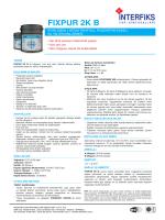 FIXPUR 2K B - İnterfiks Yapı Kimyasalları