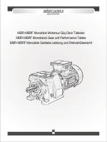 MBR-MBRF-MBRT Serisi (Pdf)