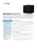 Synology DS3615xs Broşür