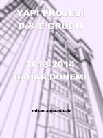 Yapı Projesi Verileri - Osmangazi Üniversitesi