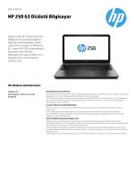 HP 250 G3 Dizüstü Bilgisayar