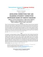 Full Text (PDF) - International Journal of Language Academy