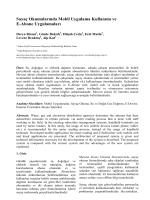 Sayaç Okumalarında Mobil Uygulama Kullanımı ve E-Abone - Inet-tr