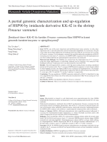 A partial genomic characterization and up