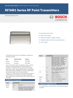 RF3401 Series RF Point Transmitters