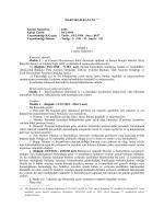 Harcırah Kanunu - Nüfus ve Vatandaşlık İşleri Genel Müdürlüğü