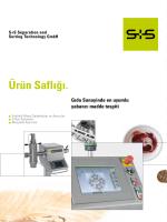 Ürün Saflığı. - BAYKON Endüstriyel Tartım Sistemleri