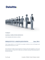 FREQUENTLY ASKED QUESTIONS June 2014