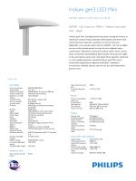 İridyum gen3 Mini BGP381 yol aydınlatma armatürü