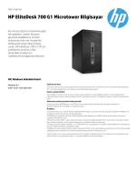 HP EliteDesk 700 G1 Microtower Bilgisayar
