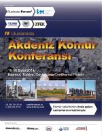 Konferans broşürü - IV Uluslararası Akdeniz Kömür Konferansı, 15