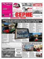 21.03.2014 Tarihli Cephe Gazetesi