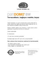 TerrazzoBasic, bağlayıcı matriks, beyaz BW