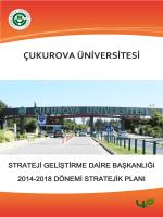 SGDB 2014-2018 Dönemi Stratejik Planı