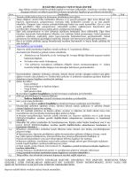 Eğitim Vize başvurusu Kontrol Listesi