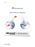 Active Directory Migration - Technet Gallery