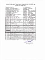 Tarih Bölümü 2014-2015 Güz Yarıyılı I. ve II. Öğretim Okutulacak