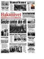 27 ekim.qxd - Çorum Hakimiyet Gazetesi