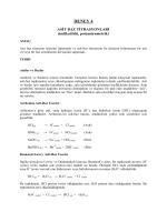 Deney 4 - Asit - Baz Titrasyonları