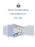 adana ticaret odası stratejik planı