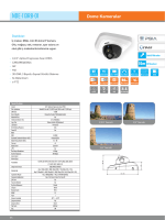 Karel NDE-113RB-01 IP HD Dome Kamera PDF Dosyası198.8 KB