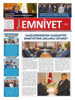 Eylül 2014 Sayı:44 Yıl:3 - Gaziantep Emniyet Müdürlüğü