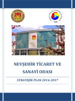 2014-2017 Stratejik Plan
