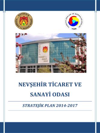 2014-2017 Stratejik Plan