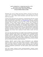nin 2013 yılına ait 28 mart 2014 tarihli olağan genel kurul