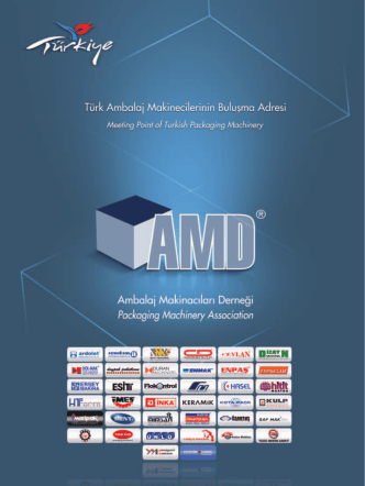 AMD KATALOG 2013.indd - Ambalaj Makinecileri Derneği