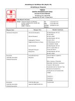 Akreditasyon Sertifikası Eki (Sayfa 1/5) Akreditasyon Kapsamı