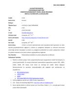 END5112 İş Sıralama ve Çizelgeleme