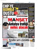 mahalle - Akdeniz Manşet
