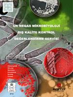 - Bakteriyoloji - Mikoloji - Moleküler - Parazitoloji