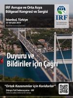 IRF Avrupa ve Orta Asya Bölgesel Kongresi ve Sergisi İstanbul
