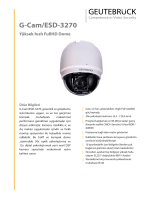 G-Cam/ESD-3270 Yüksek hızlı FullHD Dome