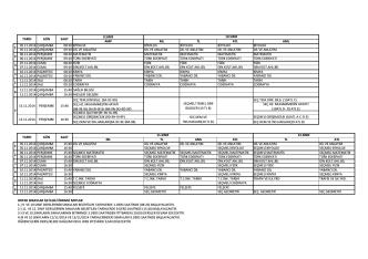 9.SINIF AMP ML TL ATL AML 05.11.2014 ÇARŞAMBA 08:20