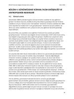 bölüm 4: günümüzdeki küresel iklim değişikliği ve antropojenik