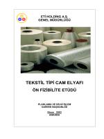 TEKSTİL TİPİ CAM ELYAFI - Kütahya Ticaret ve Sanayi Odası