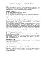 2014 YILI OCAK TAHKİMATI İÇİN GI 110 ve 140 ÇELİK BAĞ