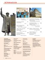 Sayfa 2 ve 3 – İçindekiler - Türk Dünyası Araştırmaları Vakfı
