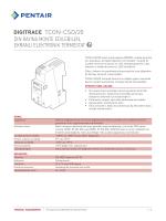 TCON-CSD/20 - Pentair Thermal Controls