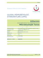 Difteri - Türkiye Halk Sağlığı Kurumu