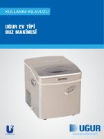 11 - Ev Tipi Buz Makinesi Kullanım Kılavuzu Web