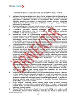 Kredi Kartı GİŞ ve Talep ve Bilgi Formu