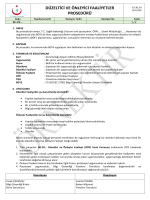 düzeltici ve önleyici faaliyetler prosedürü - Bilgi Güvenliği
